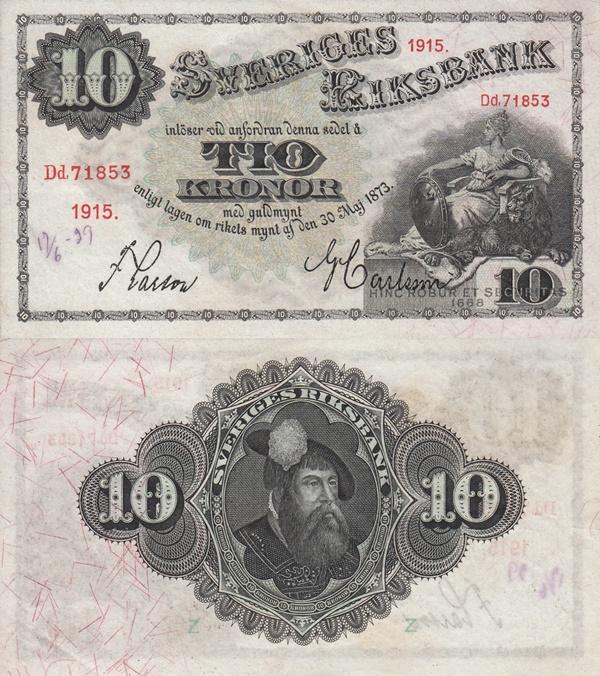 Emisiunea 1906-1917 - 10 Coroane