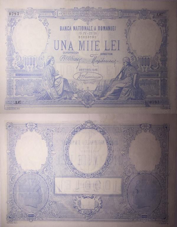 Emisiunea 1910-1931 - 1000 Lei