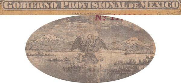 Emisiunea 1914-1915 - Gobierno Provisional de México, Veracruz