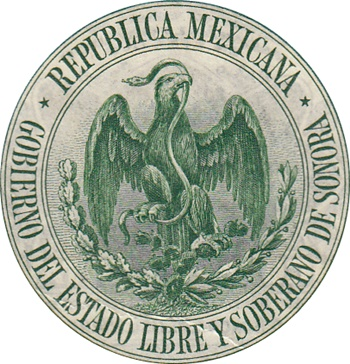 1915 (1. I.) Issue - Estado de Sonora, Hermosillo