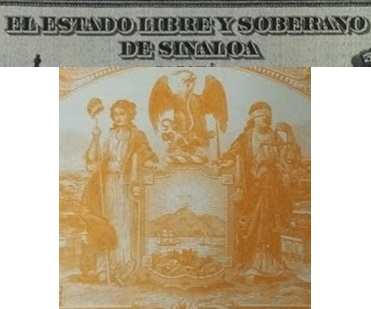 1915 Issue - Estado Libre y Soberano de Sinaloa