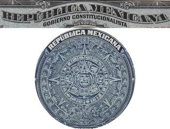 Emisiunea 1915 - República Mexicana - Gobierno Constitucionalista