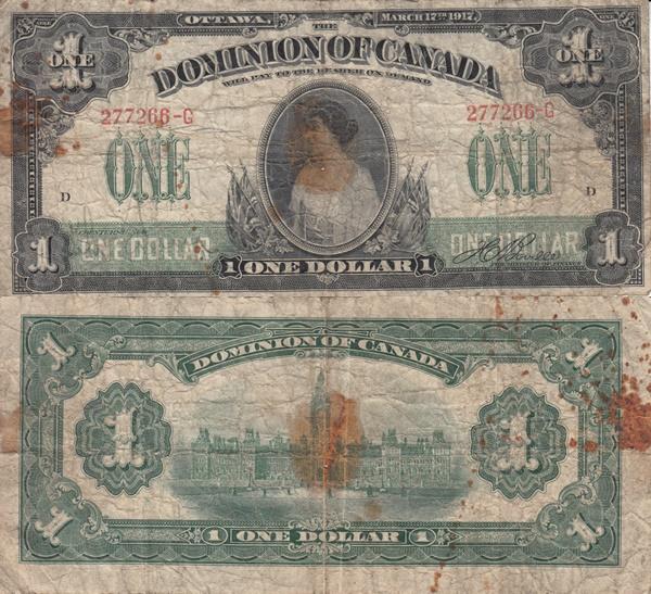 Emisiunea 1917 - 1 Dolar