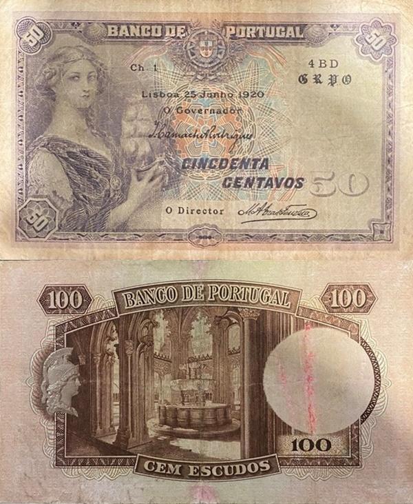 Emisiunea 1918; 1920 - 50 Centavos