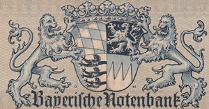 1923 First Issue -  Bayerische Notenbank (Bayern - Bavaria)