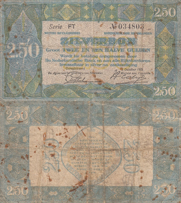 Emisiunea 1923 (ZILVERBON)