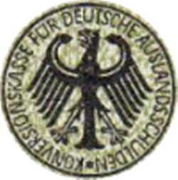 1934 Issue (Overprint) - Conversion fund for German Foreign Debts (Konversionskasse für deutsche Auslandsschulden)