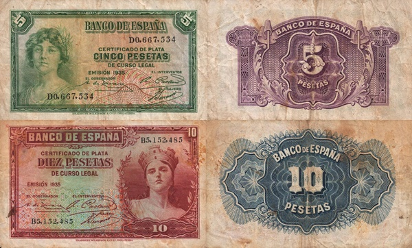 Emisiunea 1935 (1936) Silver Certificates