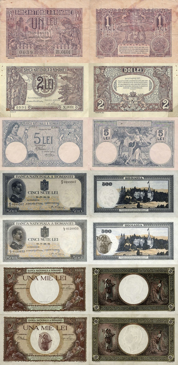 1936-1940 Issue