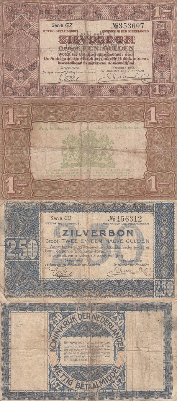 Emisiunea 1938 - Zilverbon