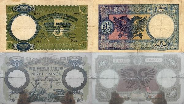 Emisiunea 1939 ND - Ocupația Italiană