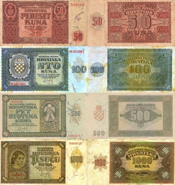 Emisiunea 1941 - Nezavisna Drzava Hrvatska