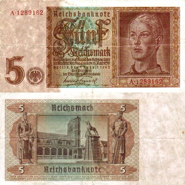 1942 Issue - Reichsbank