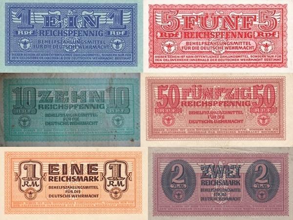 1942 ND (Behelfszahlungsmittel Für Die Deutsche Wehrmacht - Auxiliary Payment Certificates, German Armed Forces)