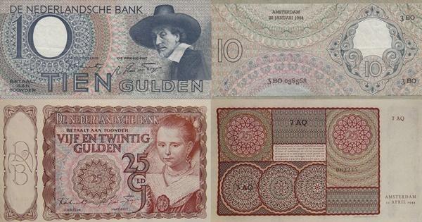 Emisiunea 1943-1944 - Nederlandsche Bank