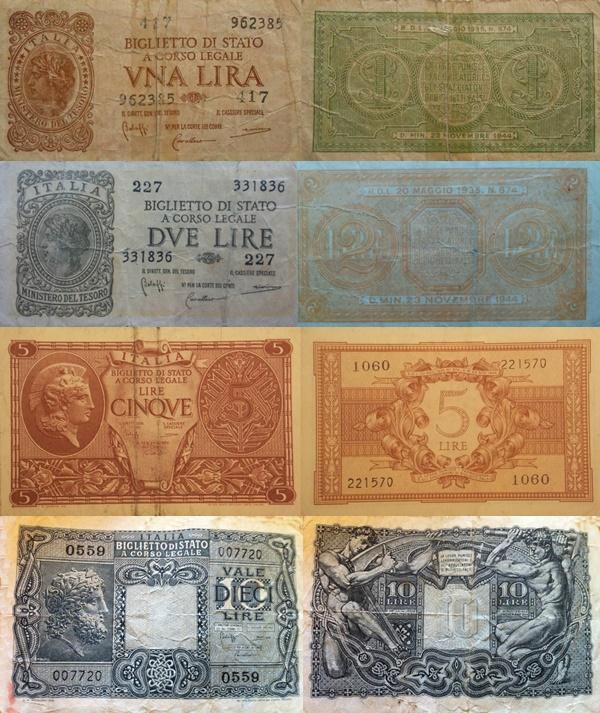 Emisiunea 1944 - Biglietto Di Stato