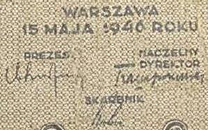 Emisiunea 1946 (15. V.)