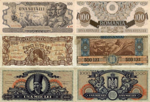 1947 Issue (Currency Reform)
