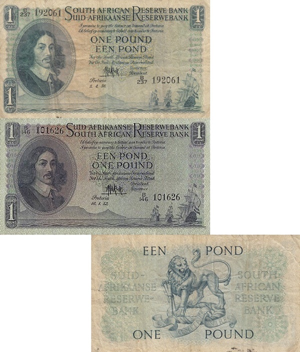 1948-1959 Issue - 1 Pound