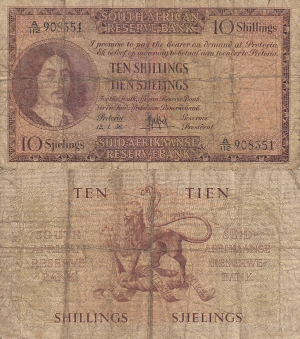 1948-1959 Issue - 10 Shillings