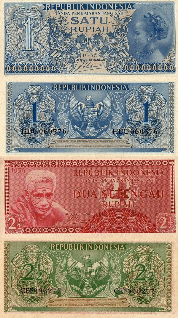 1956 Issue - Republik Indonesia