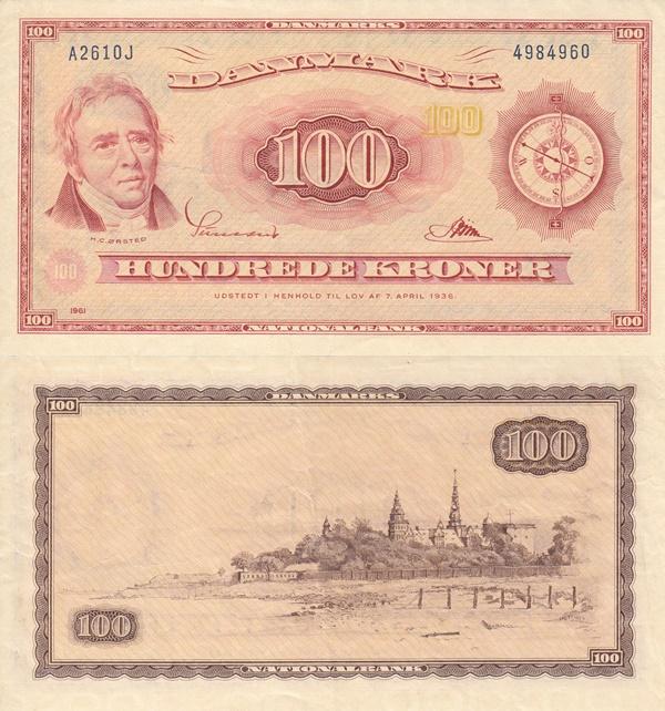 Emisiunea 1961-1962, 1965, 1970 - 100 Coroane