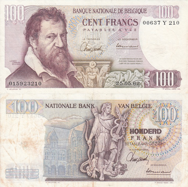 1962-1977 Issue - 100 Francs