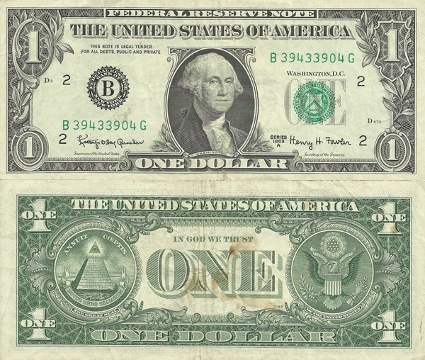 1963 Issue - 1 Dollar