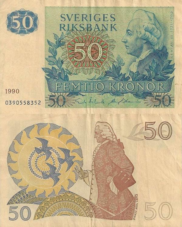 1965-1990 - 50 Kronor