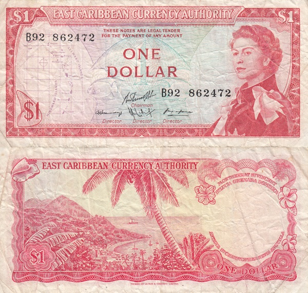 1965 ND Issue - 1 Dollar