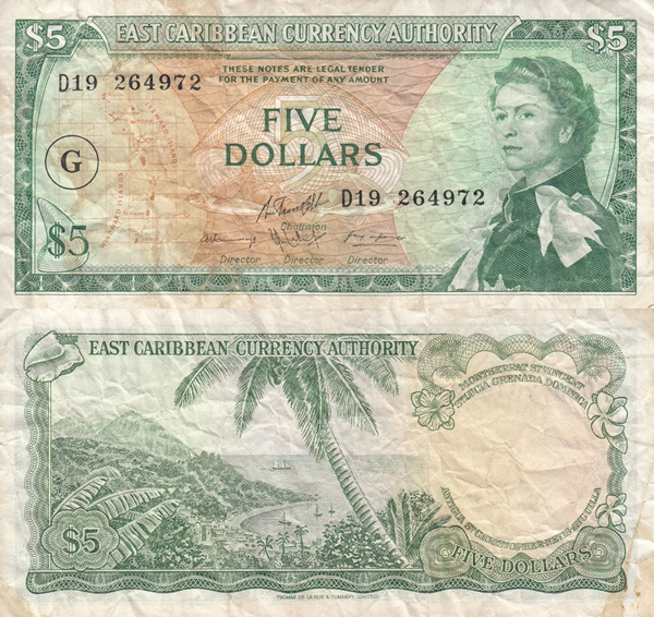 1965 ND Issue - 5 Dollars