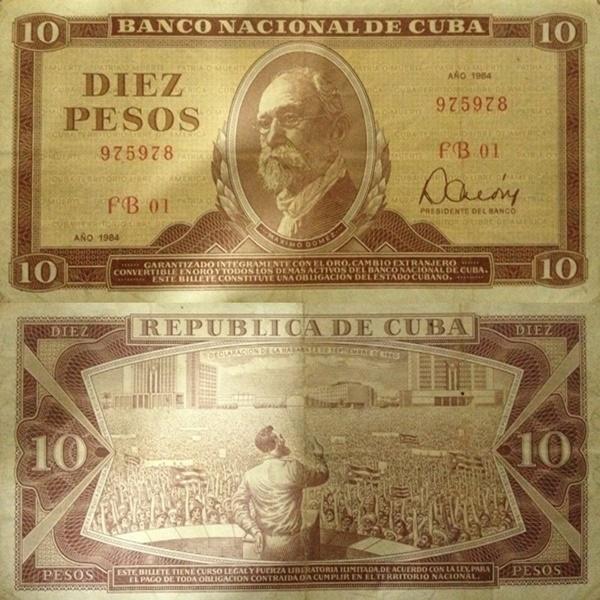 Emisiunea 1967-1989 - 10 Pesos