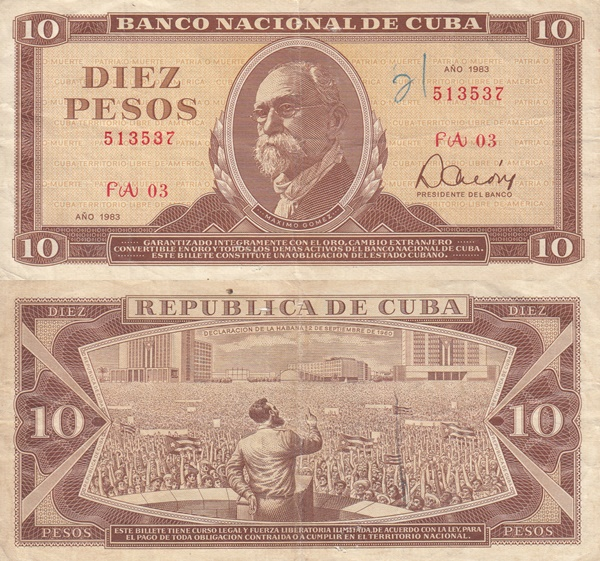 1967-1989 Issue - 10 Pesos