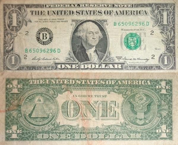 Emisiunea 1969 - 1 Dolar