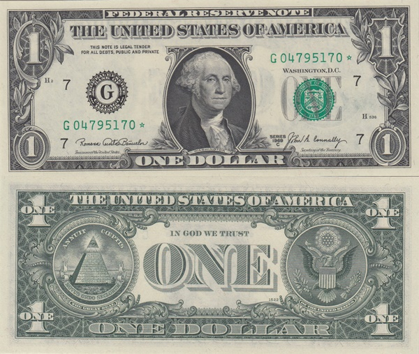 1969 Issue - 1 Dollar
