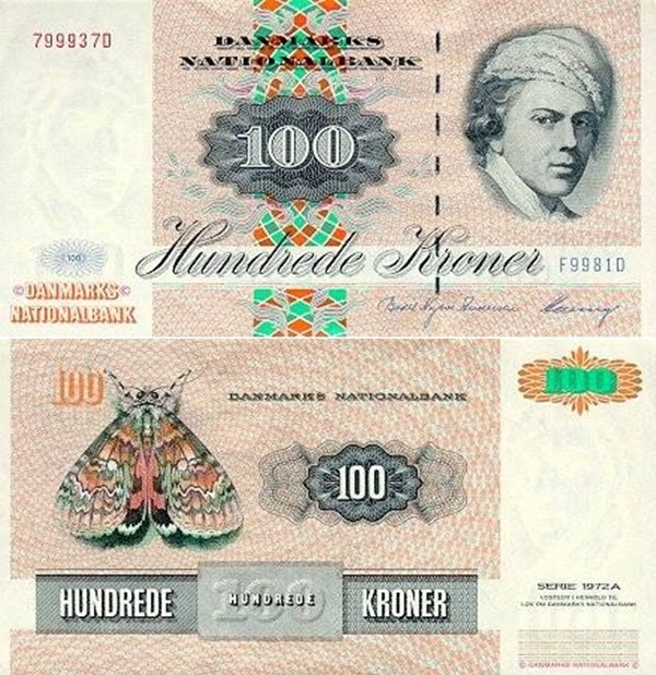 1972 (1972-1998) Issue - 100 Kroner