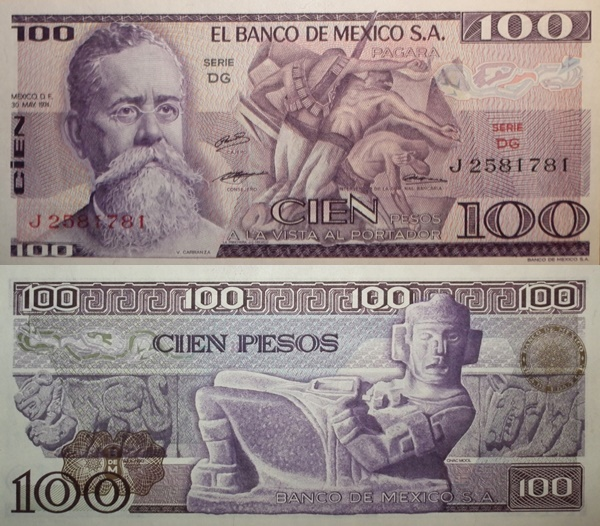 1974 & 1978 Issue - 100 Pesos