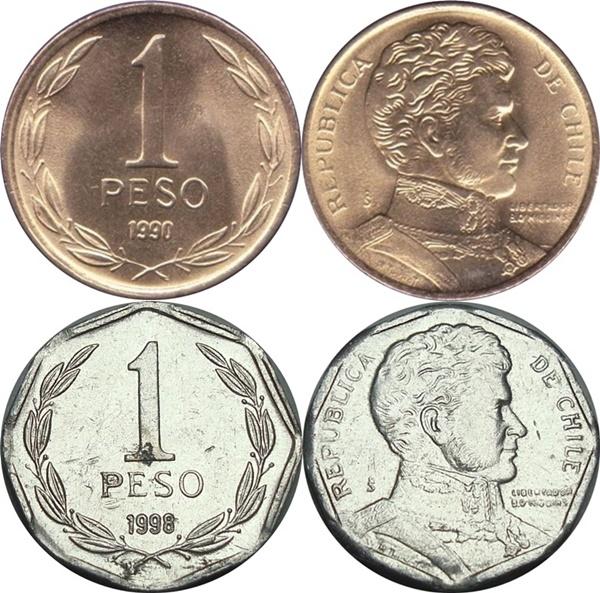 Emisiunea 1975-2015 - 1 Peso