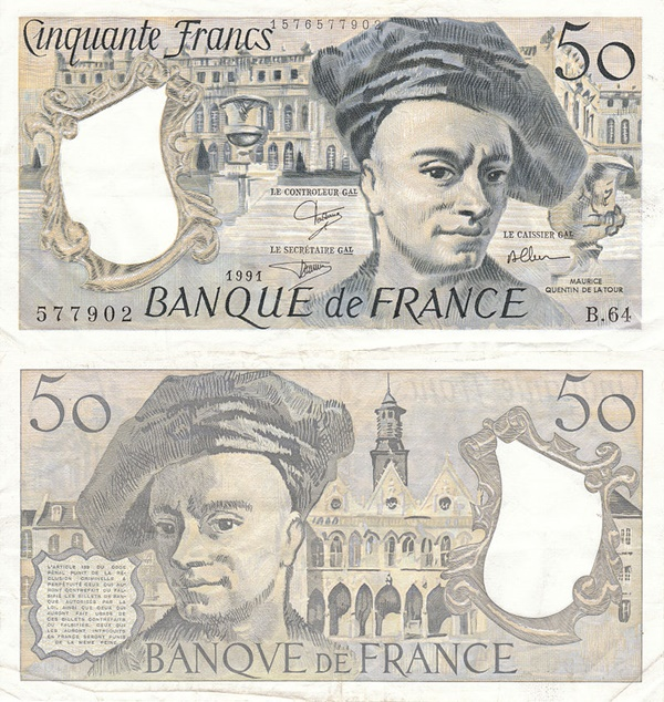 1976-1992 Issue - 50 Francs