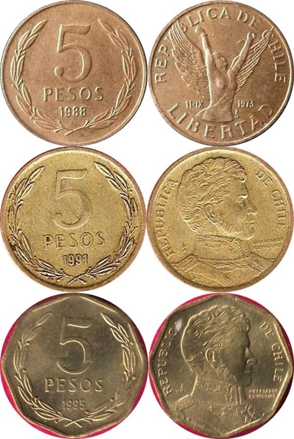 Emisiunea 1976-2016 - 5 Pesos
