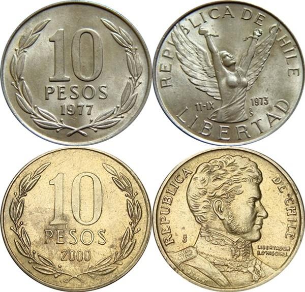 1976-2017 - 10 Pesos