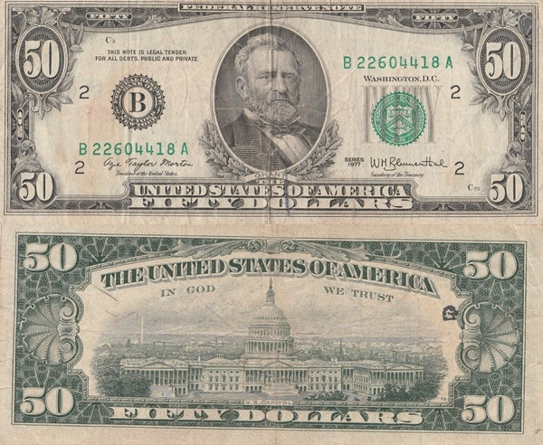 1977 Issue - 50 Dollars