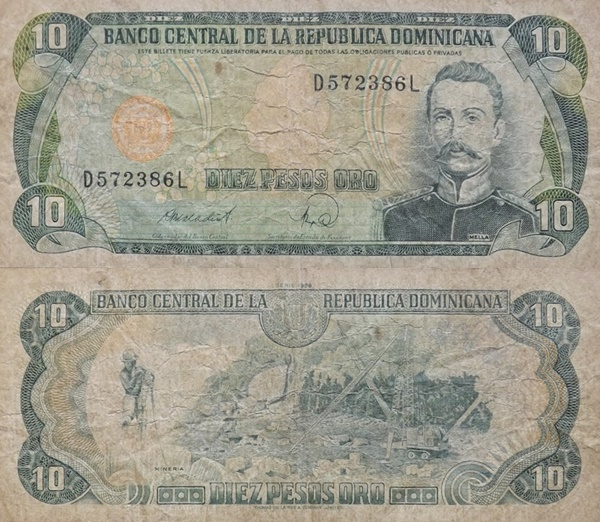 1978-1988 Issue - 10 Pesos Oro