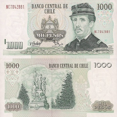 1978-2009 Issue - 1000 Pesos