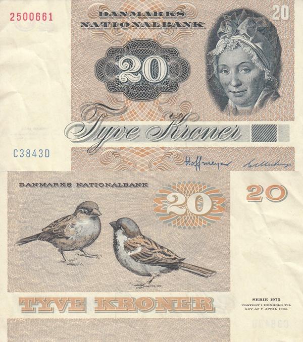1979-1988 Issue - 20 Kroner