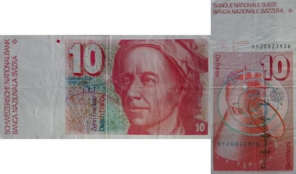 1979-1992 Issue - 10 Franken