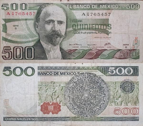 1979 Issue - 500 Pesos