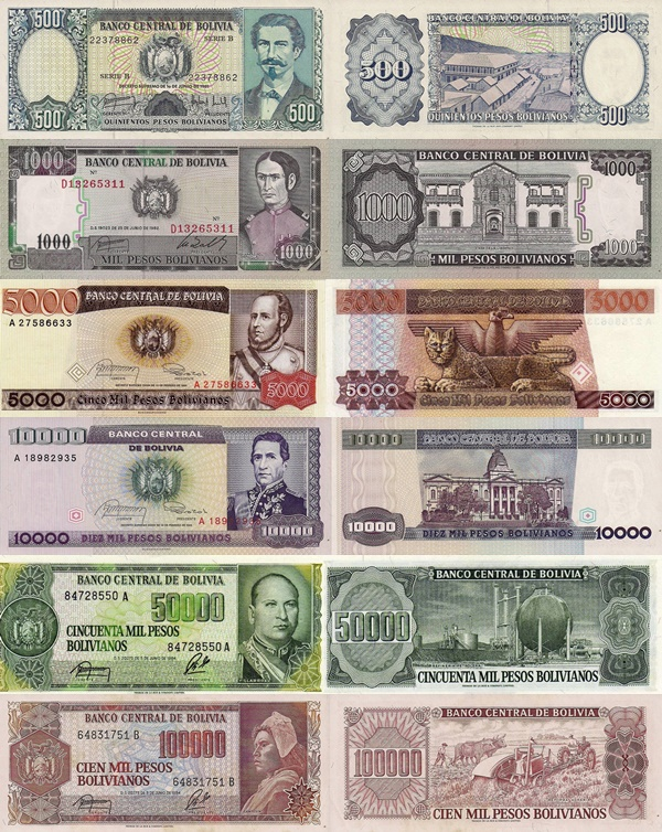 1981-1984 Various Decrees ND Issue