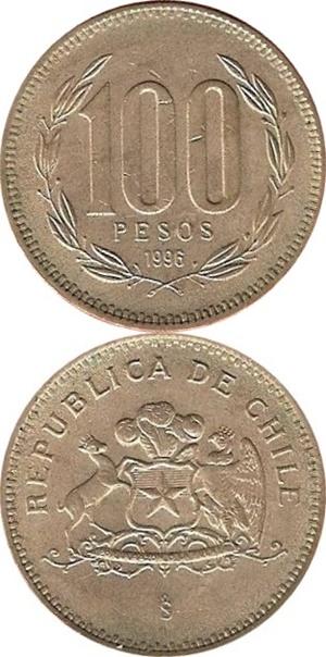 1981-2000 Issue - 100 Pesos