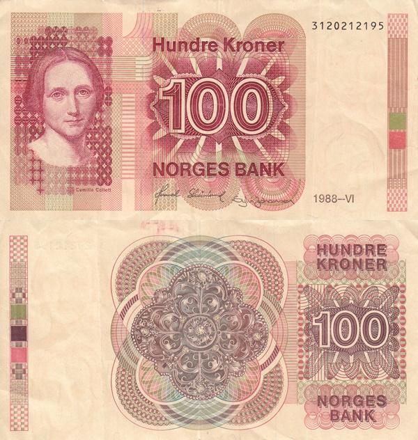 1983-1994 Issue - 100 Kroner